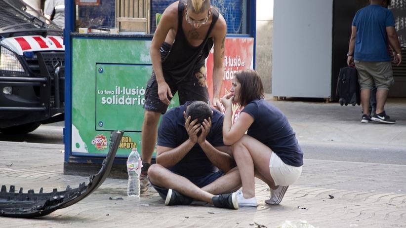 Bilans zamachu w Barcelonie: Terrorysta nie żyje, 15 zabitych, ponad 50 rannych