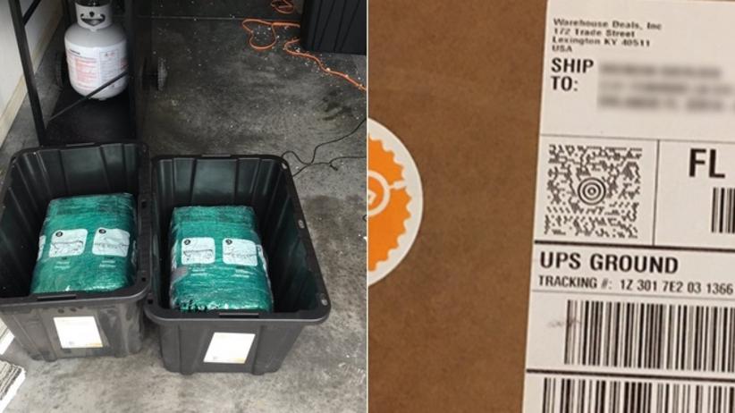 Zamówili na Amazonie plastikowe pudełka. Przysłali im 30 kg marihuany