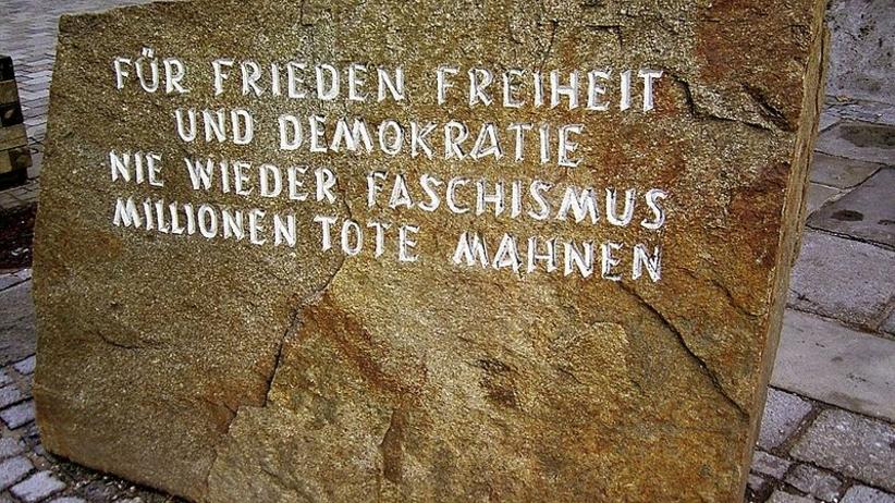Kamień przed domem Hitlera