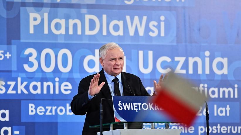 Kaczyński chce przemalować województwo