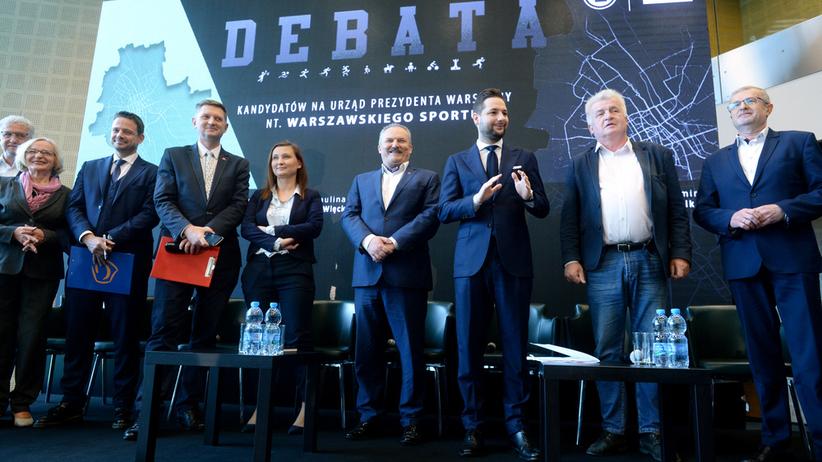 Już dziś debata kandydatów na prezydenta Warszawy. Sprawdź, kto potwierdził udział