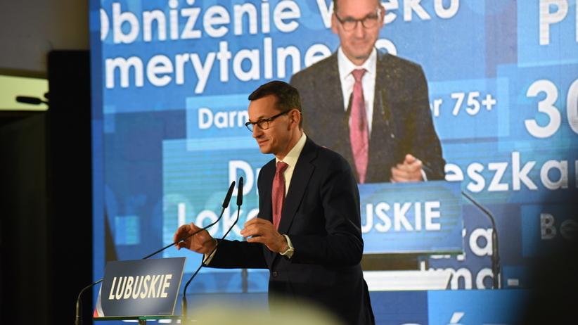 PO składa pozew przeciwko Morawieckiemu
