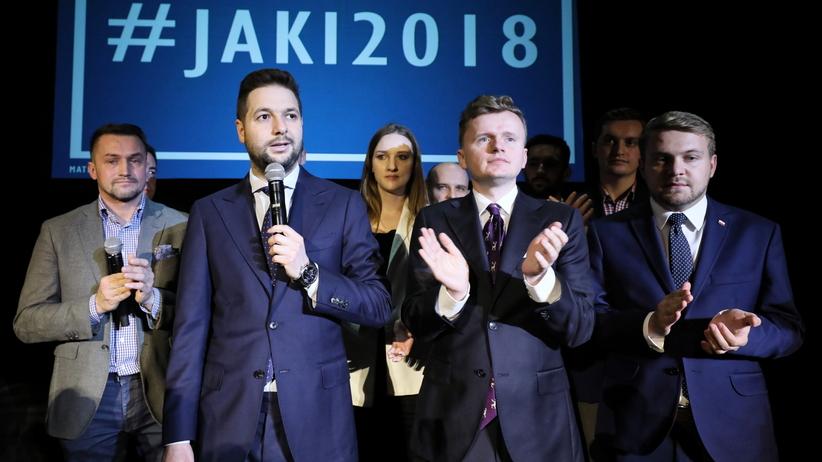 Przemówienie Patryka Jakiego. Wybory samorządowe 2018