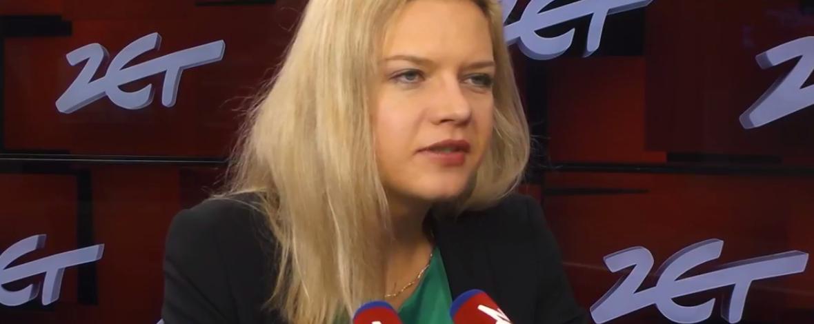 Małgorzata Wassermann w Radiu ZET: Nie chcę być marszałkiem Sejmu. Chcę zostać prezydentem Krakowa