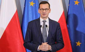 Morawiecki do opozycji: życzę mniej jeżdżenia do obcych stolic na skargę