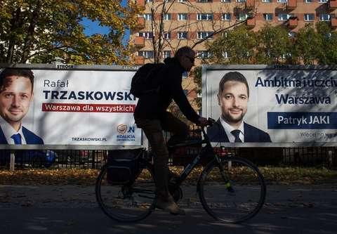 Wybory 2018. Sondaż w Warszawie. Trzaskowski wygrywa z Jakim
