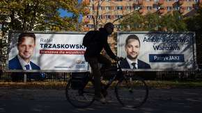Trzaskowski prowadzi z Jakim w sondażu Kantar
