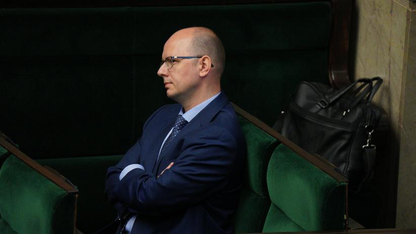Przewodniczący komisji ds. pedofilii Błażej Kmieciak
