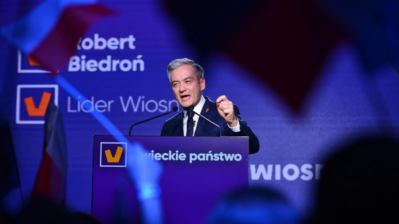 Biedroń: prezesie Kaczyński, idziemy po Was! Dedukuję panu art. 18 Kodeksu Karnego