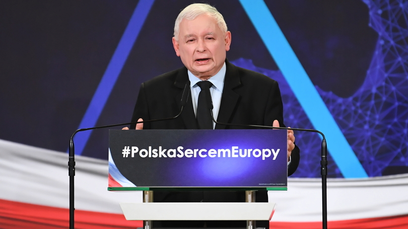 Kaczyński ostro o walucie euro. O nauczycielach nie wspomniał
