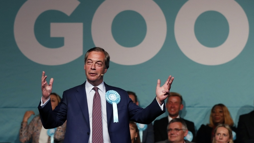 Partia Brexitu faworytem eurowyborów na Wyspach