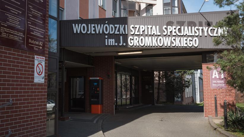 Wroclaw szpital ul. Koszarowa trwa pandemia koronawirusa