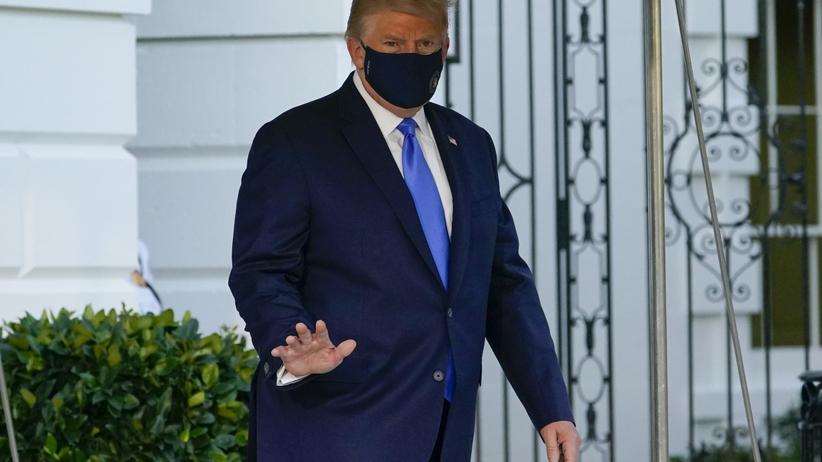 Donald Trump, problemy z oddychaniem