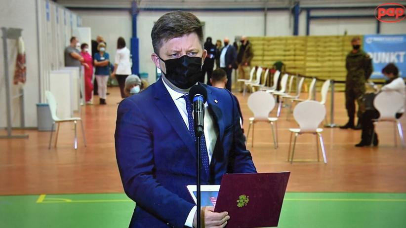 Michał Dworczyk szczepienia