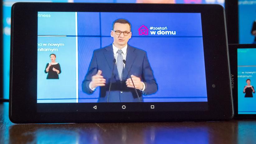 Mateusz Morawiecki konferencja