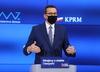 Konferencja prasowa. Premier Mateusz Morawiecki i minister zdrowia Adam Niedzielski