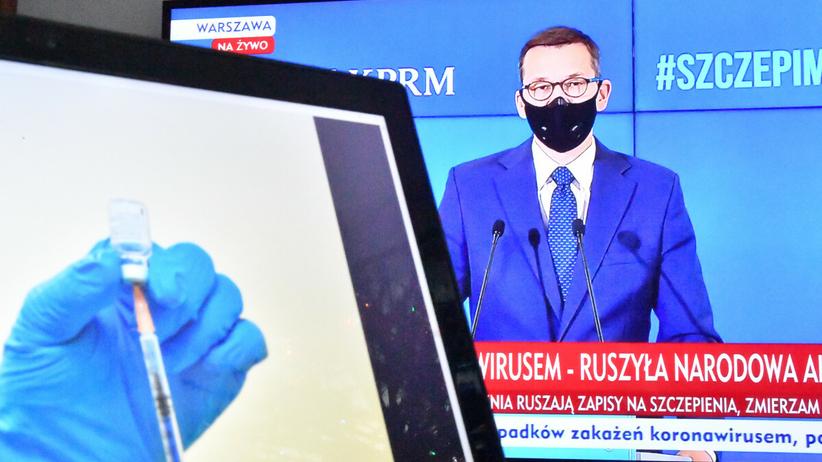 Konferencja premiera. Morawiecki o szczepieniach i obostrzeniach - Wiadomości