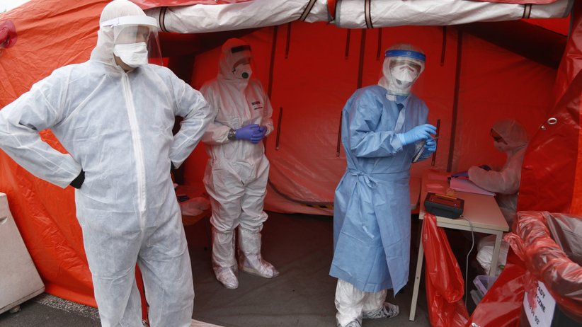 koronawirus - masowe testy diagnostyczne