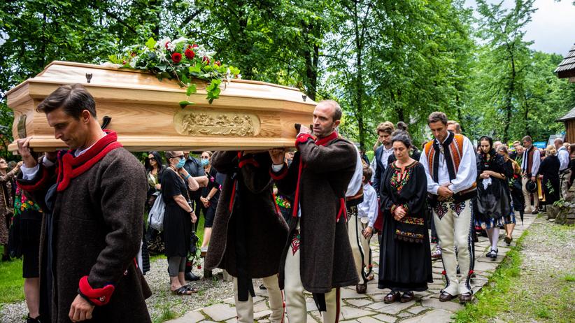Pogrzeb Zofii Karpiel-Bułecki