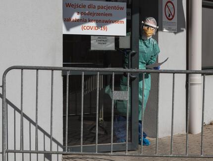 Poznań. Ognisko koronawirusa w szpitalu dziecięcym. Zakażonych ponad 30 osób