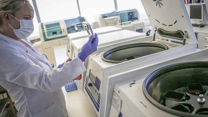 Koronawirus laboratorium