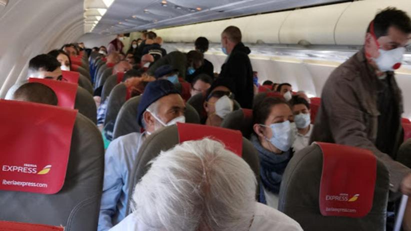 samolot z Madrytu na Wyspy Kanaryjskie