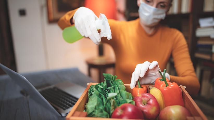 dezynfekcja jedzenia