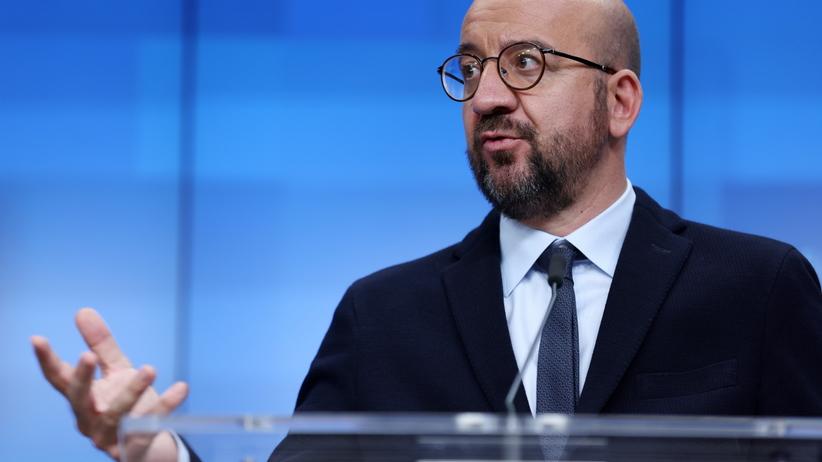 Szef Rady Europejskiej Charles Michel