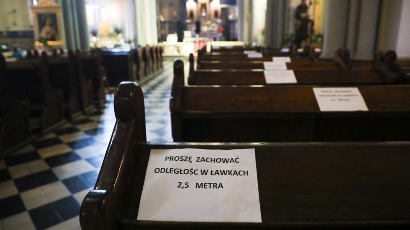 Parafia w Pliszczynie k. Lublina ogniskiem zakażeń koronawirusem
