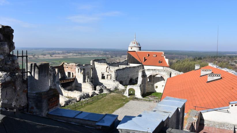 Zamek w Janowcu, koronawirus
