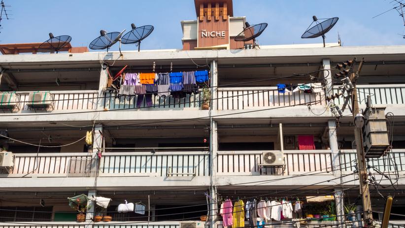 budynek w Tajlandii