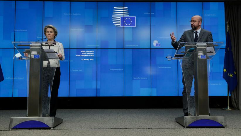 Unia Europejska, opóźnienia w dostawach szczepionek
