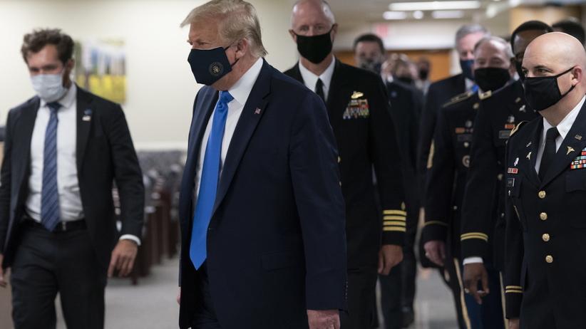 Donald Trump koronawirus w USA
