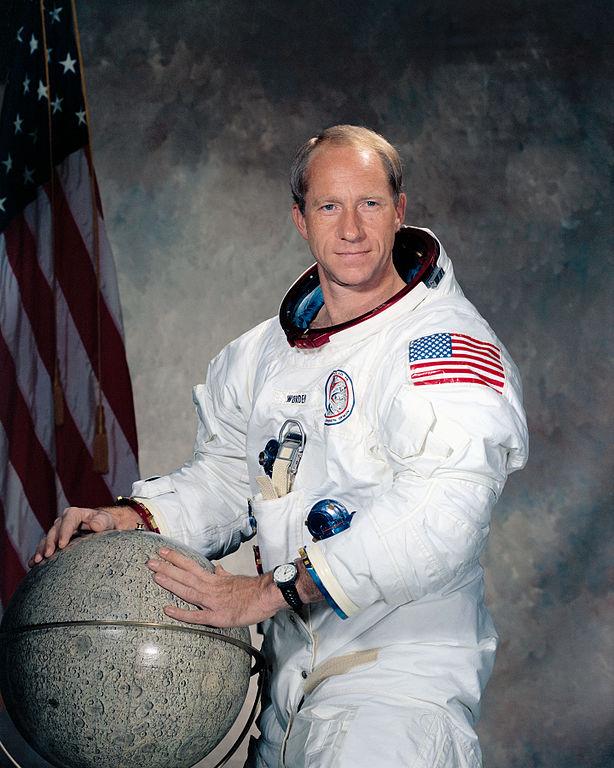 Al Worden przed misją Apollo 15