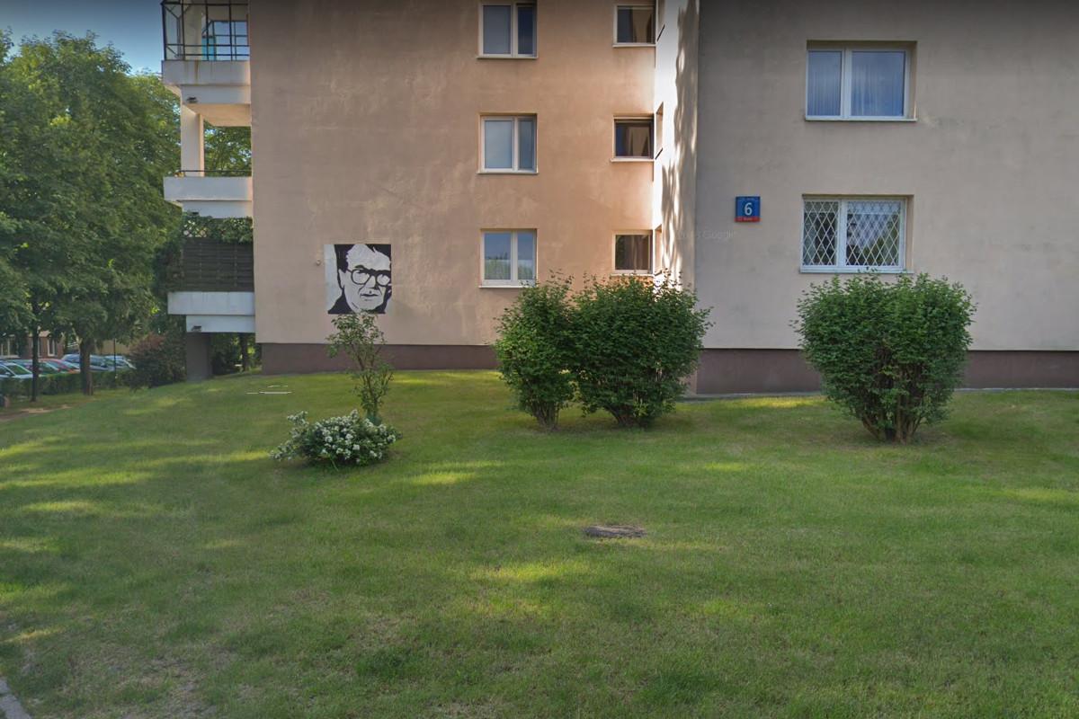 Blok, w którym mieszkał Beksiński
