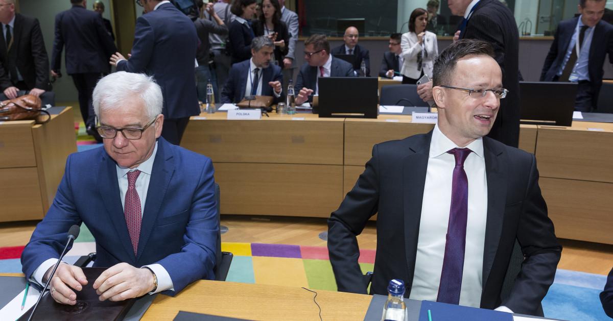 Czaputowicz i Szijjarto