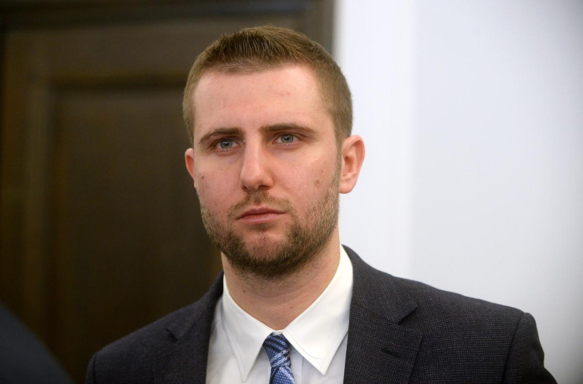 Dziennikarz TVP Milosz Kleczek