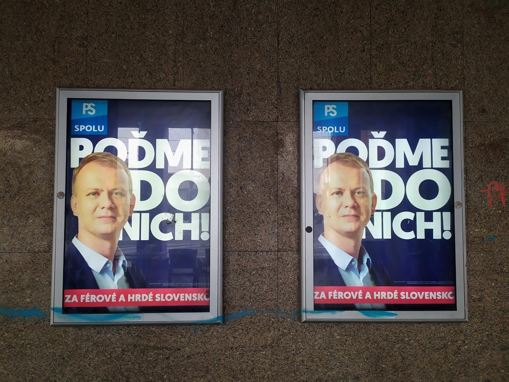 Kampania wyborcza na Słowacji