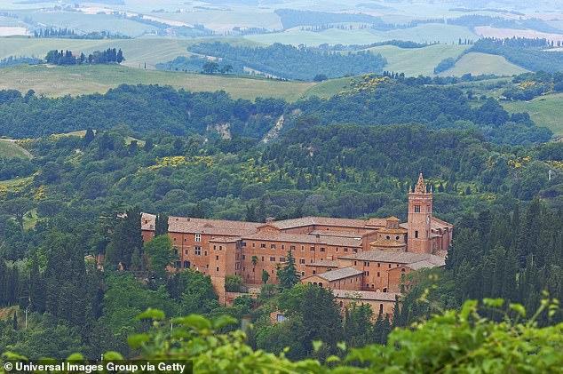klasztor w toskanii
