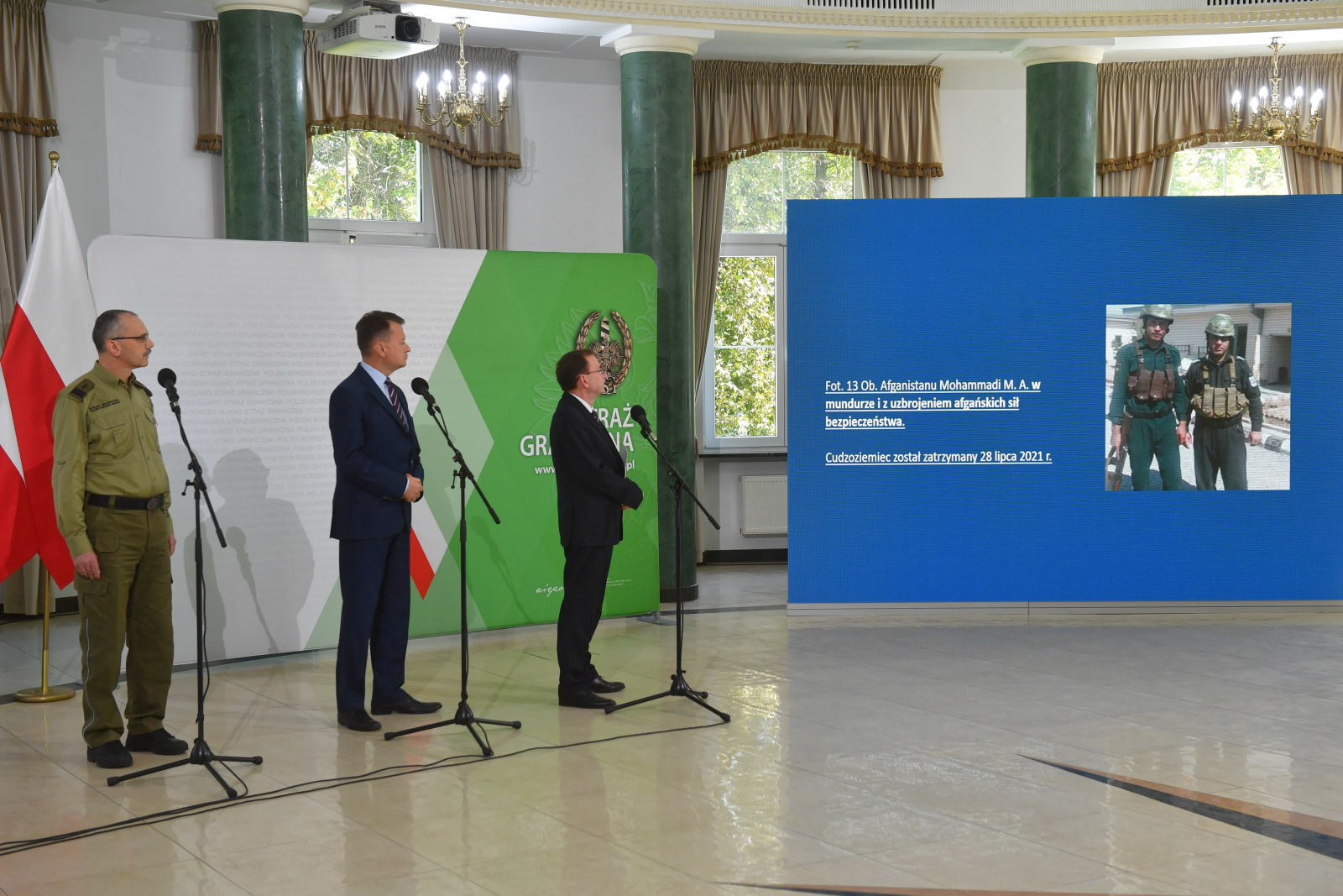 Mariusz Kamiński, Mariusz Błaszczak, Tomasz Praga