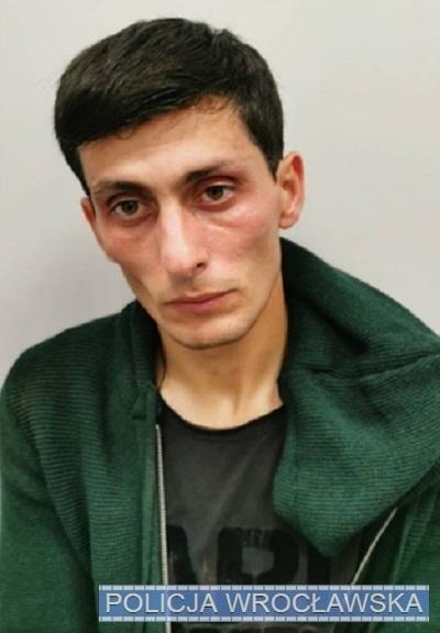 Mężczyzna poszukiwany przez wrocławską policję