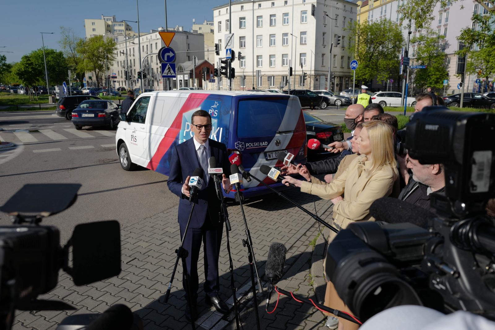 Morawiecki rusza w trasę po Polsce, by promować Polski Ład