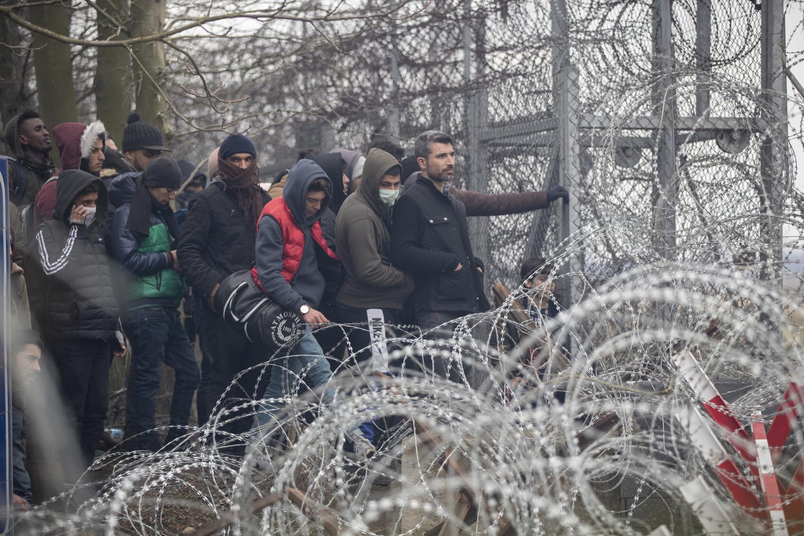 Uchodźcy Grecja