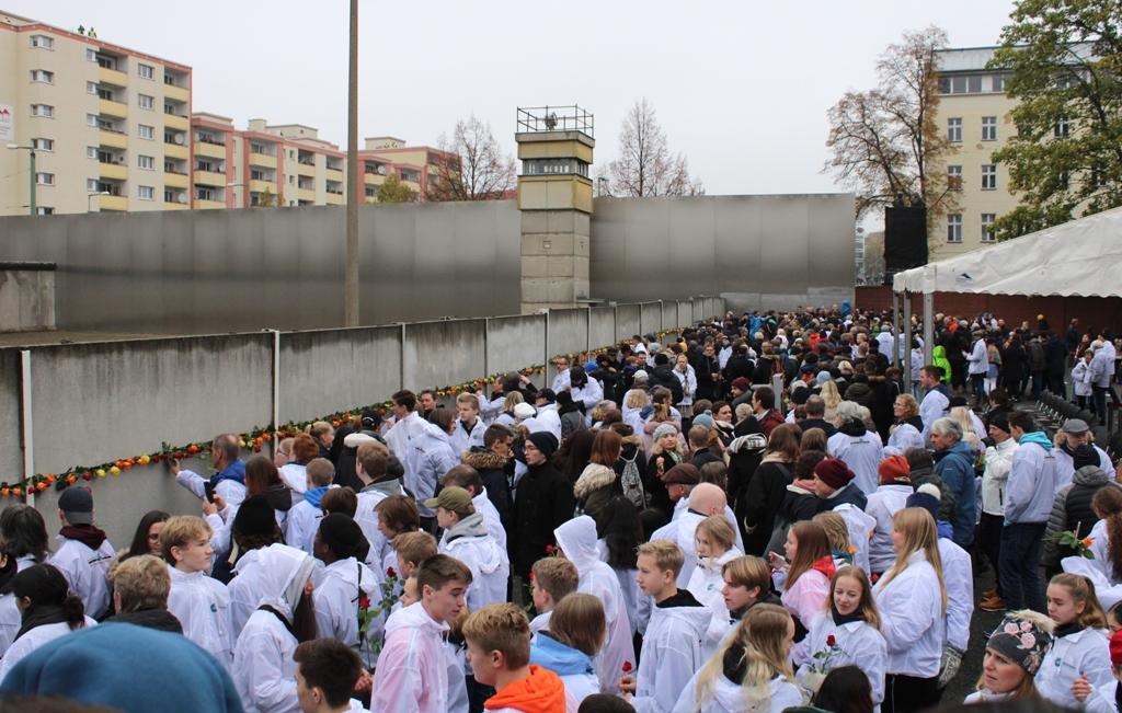 Obchody 30. rocznicy obalenia muru berlińskiego