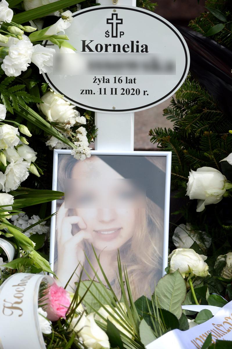 Pogrzeb zamordowanej Kornelii