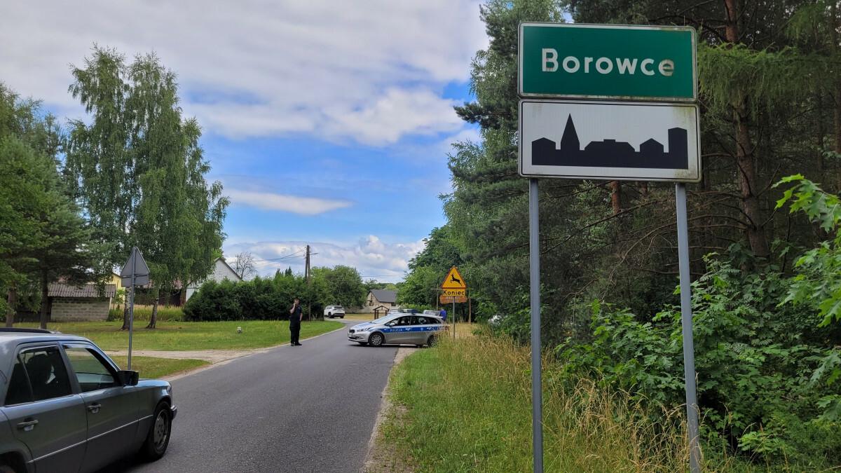 Poszukiwania Jacka Jaworka w Borowcach