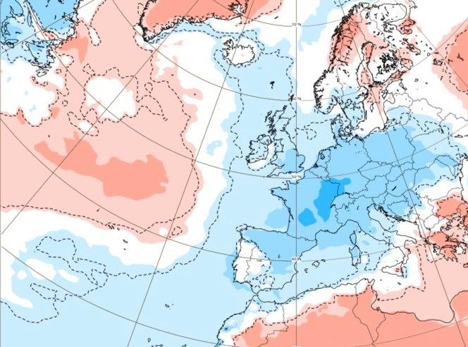 Prognoza temperatury od 2.08.2021 do 9.08.2021