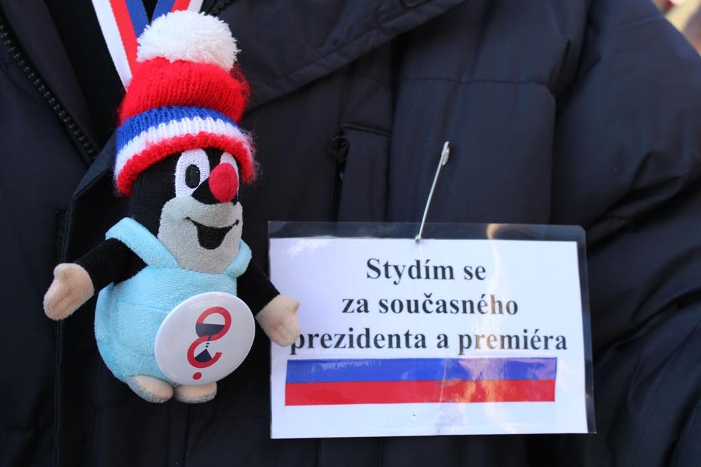Protesty antyrządowe w Pradze