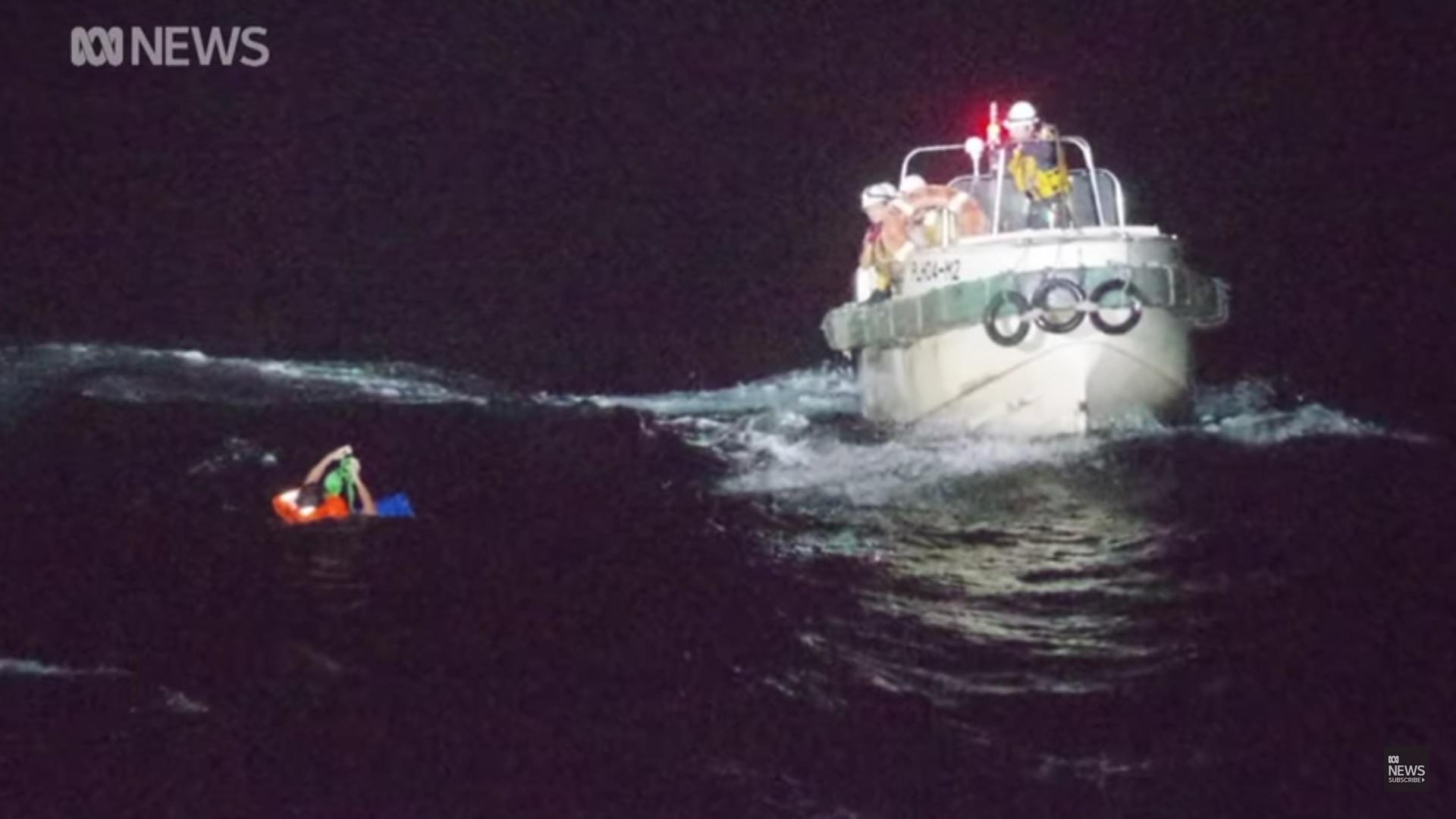 statek z australii akcja ratunkowa