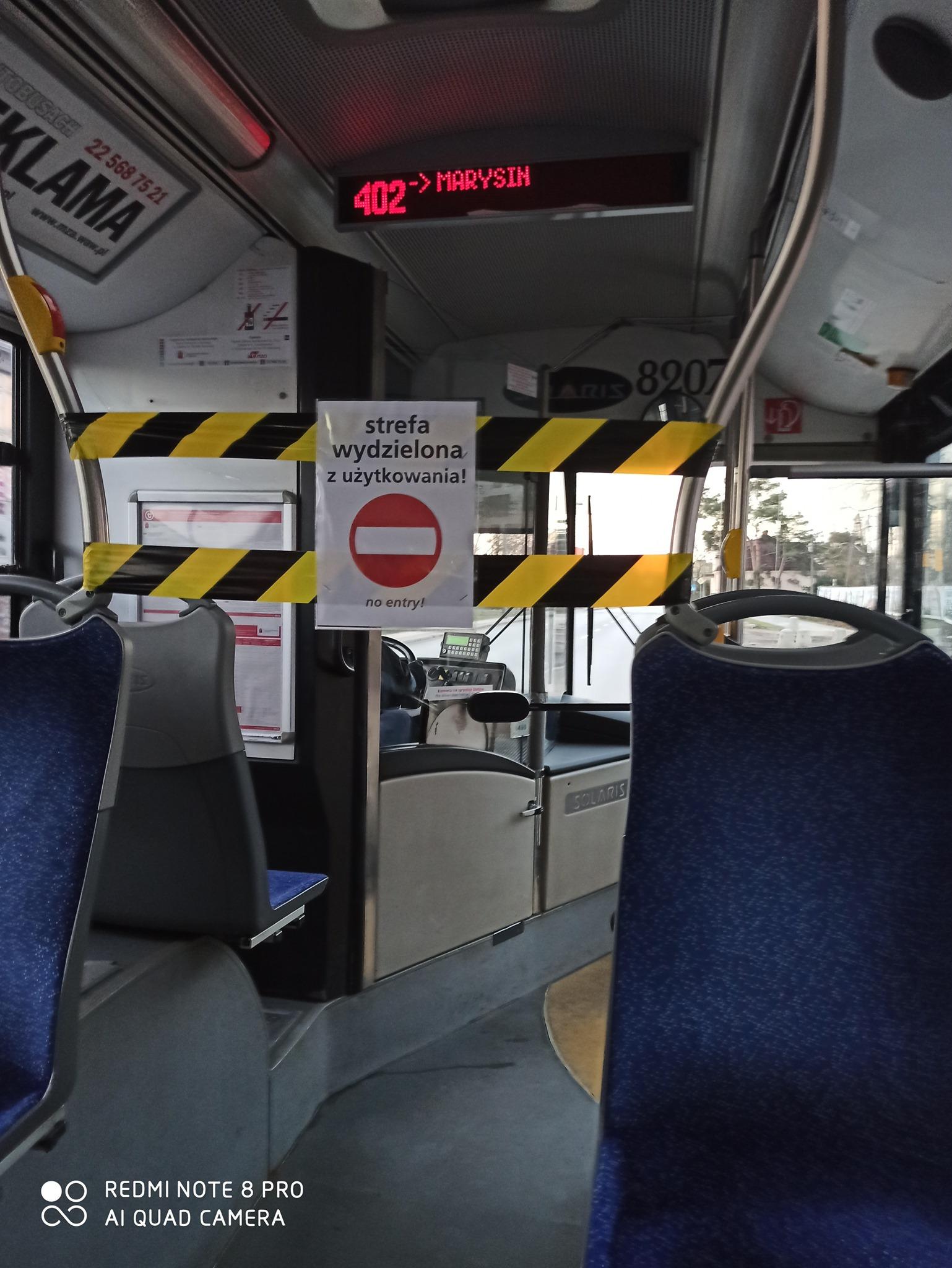 strefa w autobusie